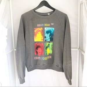 Mighty Fine•Beatles Abbey Road '69 Sweatshirt XL